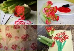 Creative-craft-Using-vegetables-as-stamps-1