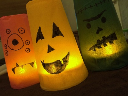 Monster Cup Lanterns